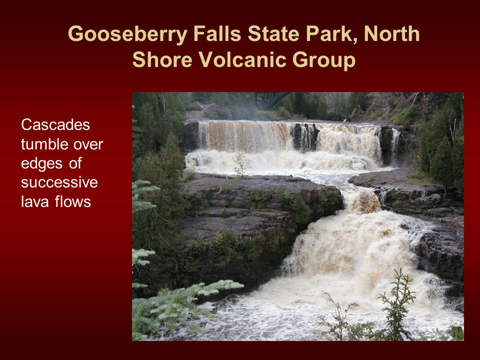 Gooseberry Falls State Park, North Shore Volcanic Group