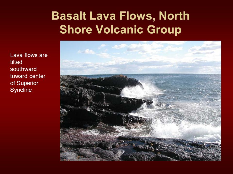Basalt Lava Flows, North Shore Volcanic Group