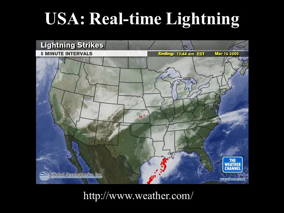USA: Real-time Lightning