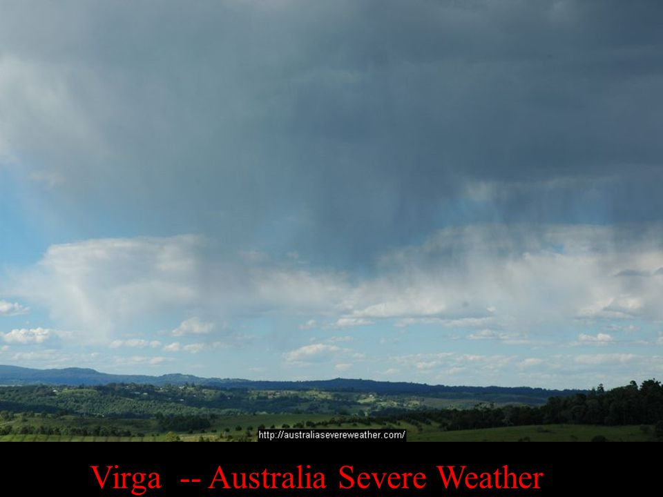 Virga -- Australia Severe Weather