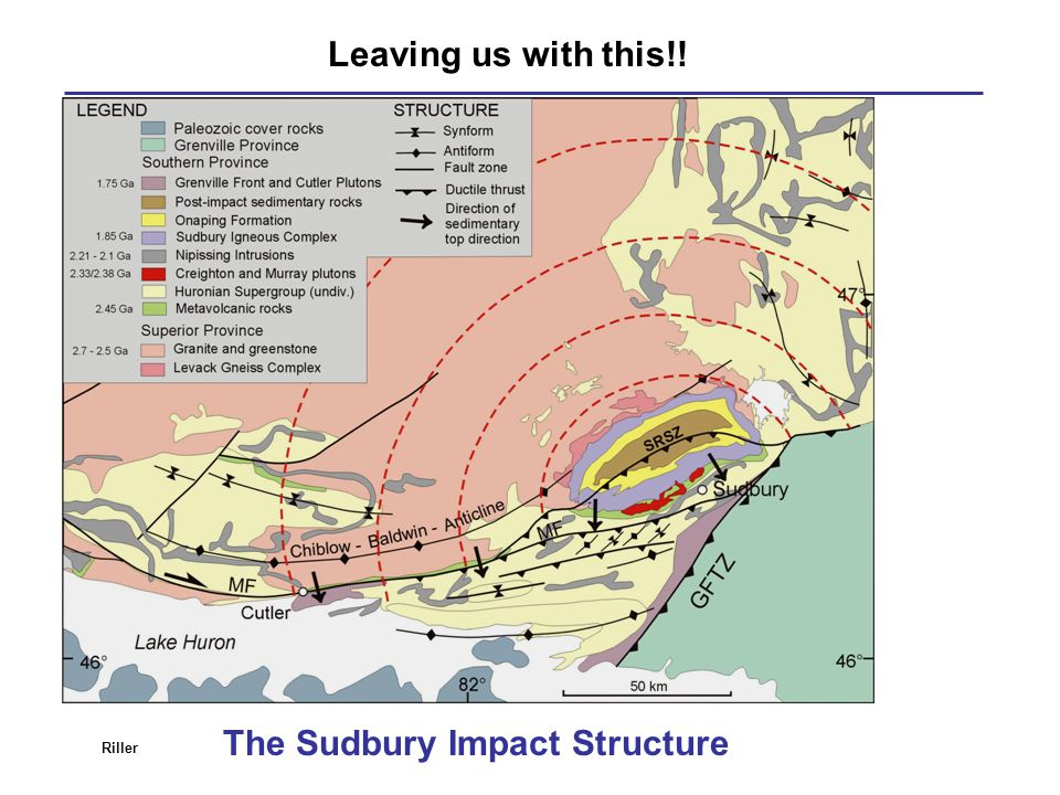 The Sudbury Impact Structure