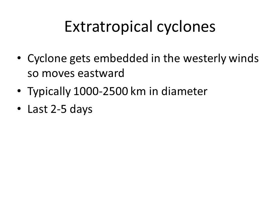 Extratropical cyclones