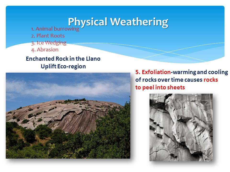 Enchanted Rock in the Llano Uplift Eco-region
