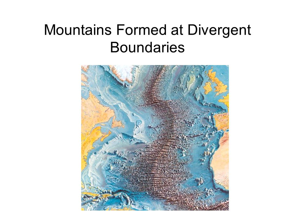 topographical features at divergent and convergent Chapter 4: plate tectonics: evolution of the ocean guide to reading and learning until recently, most texts have treated plate tectonics as a theory, not as an.