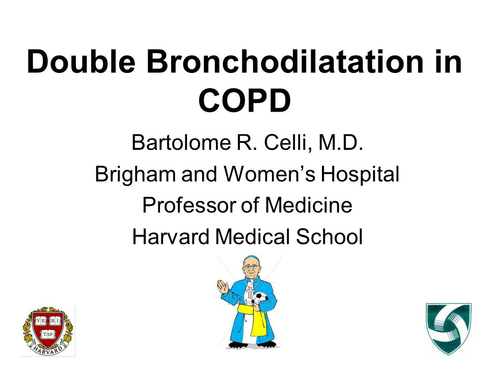 Double Bronchodilatation in COPD