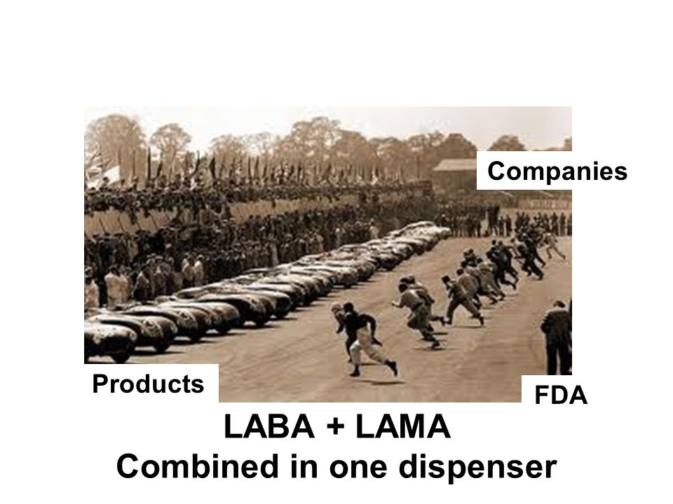 LABA + LAMA Combined in one dispenser