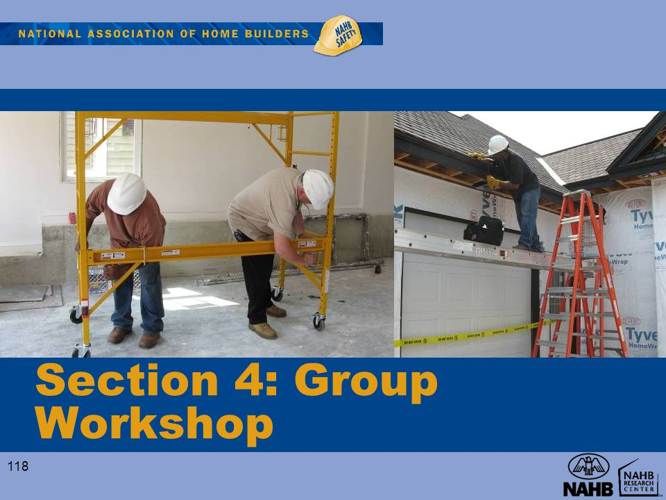 Section 4: Group Workshop