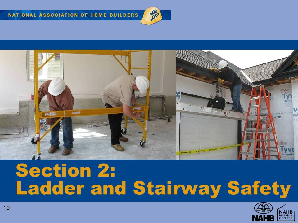 Section 2: Ladder and Stairway Safety