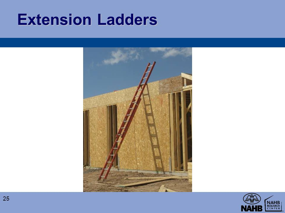 Extension Ladders 25