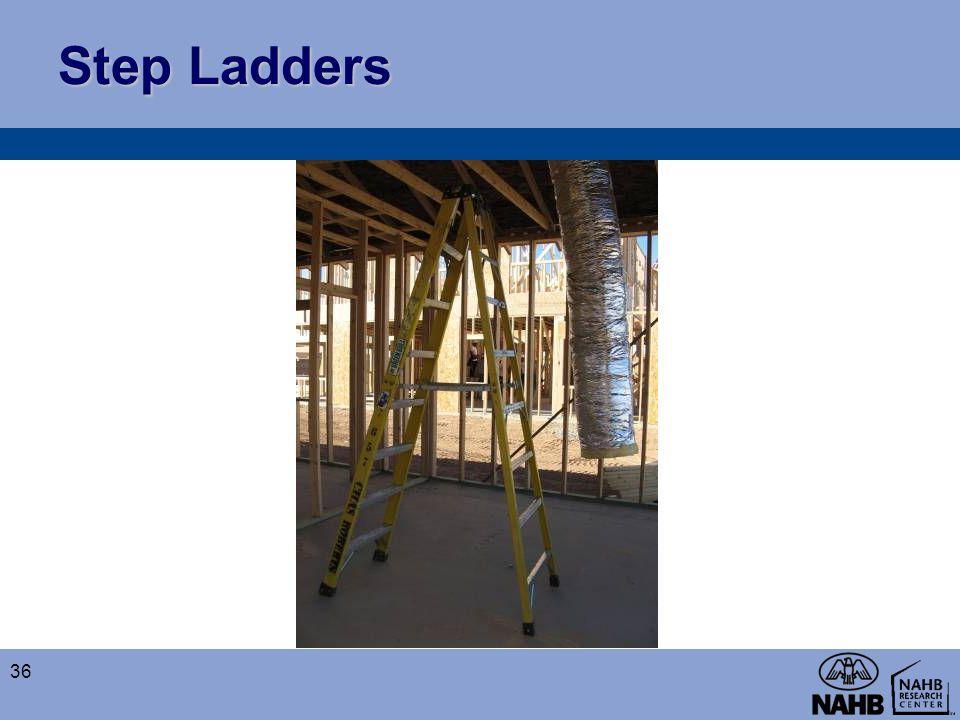 Step Ladders 36