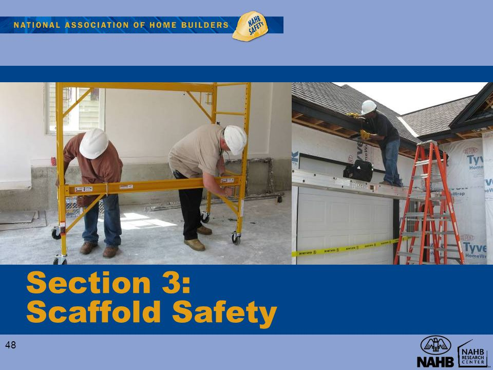 Section 3: Scaffold Safety
