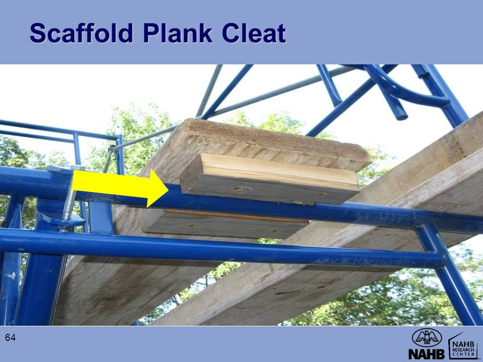 Scaffold Plank Cleat