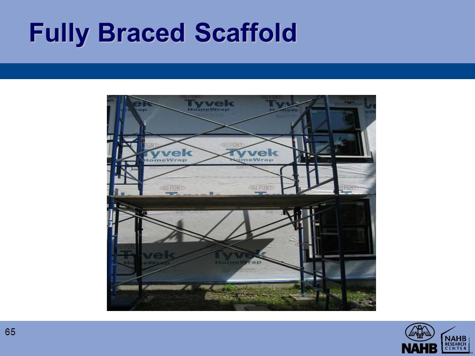 Fully Braced Scaffold