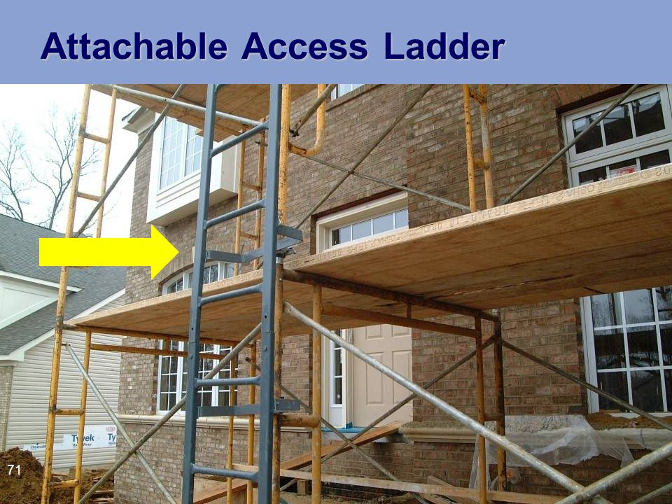 Attachable Access Ladder