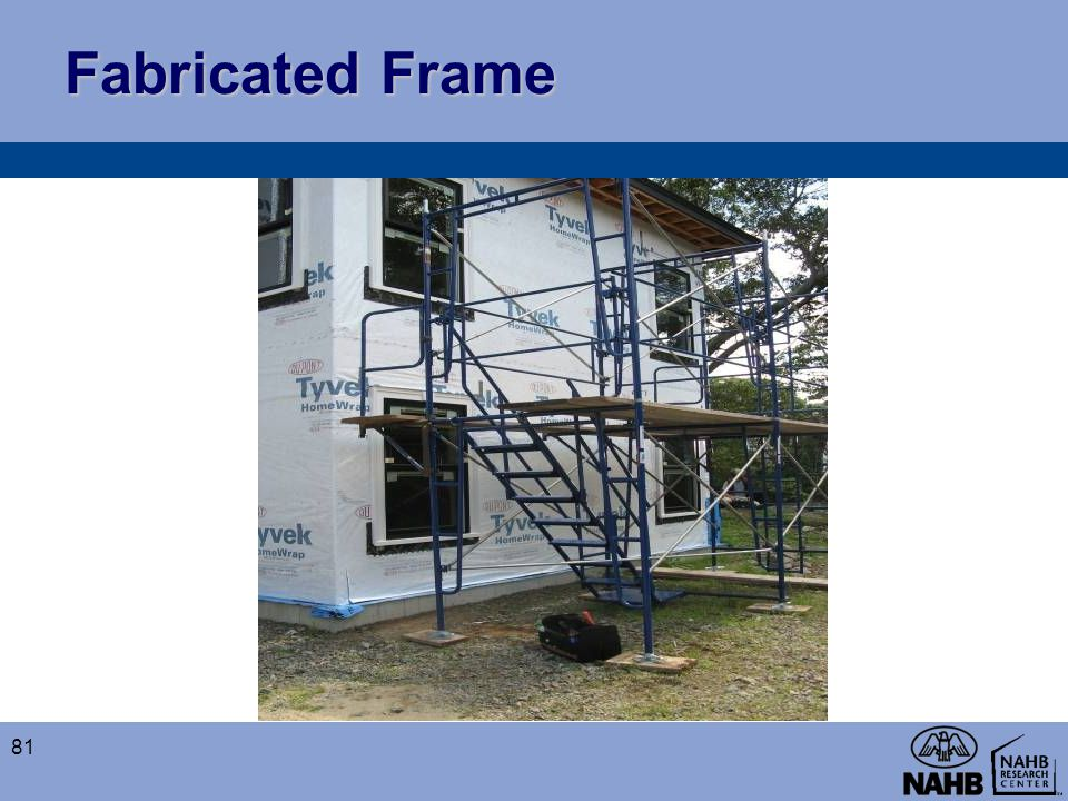 Fabricated Frame