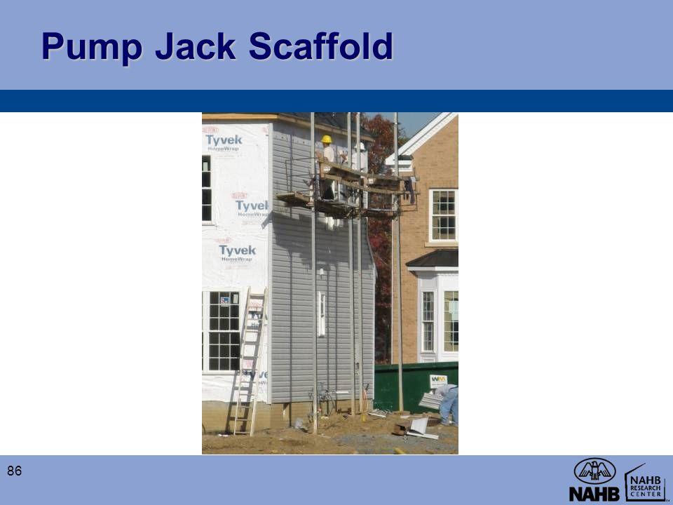 Pump Jack Scaffold