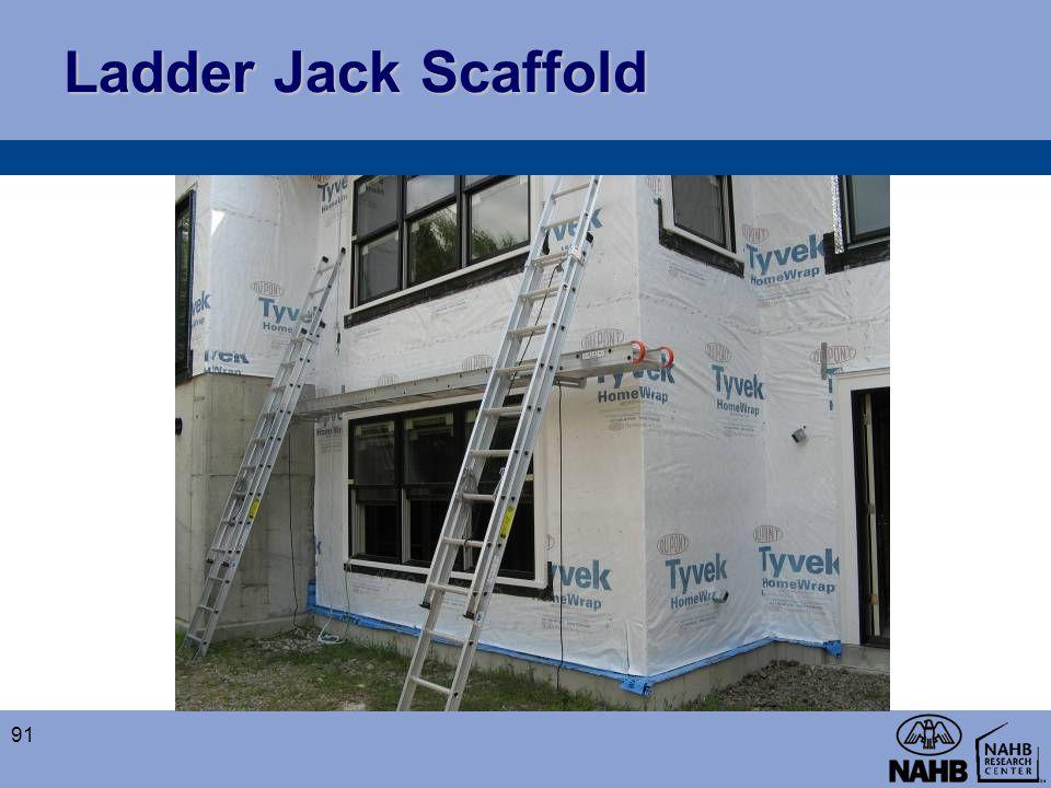 Ladder Jack Scaffold