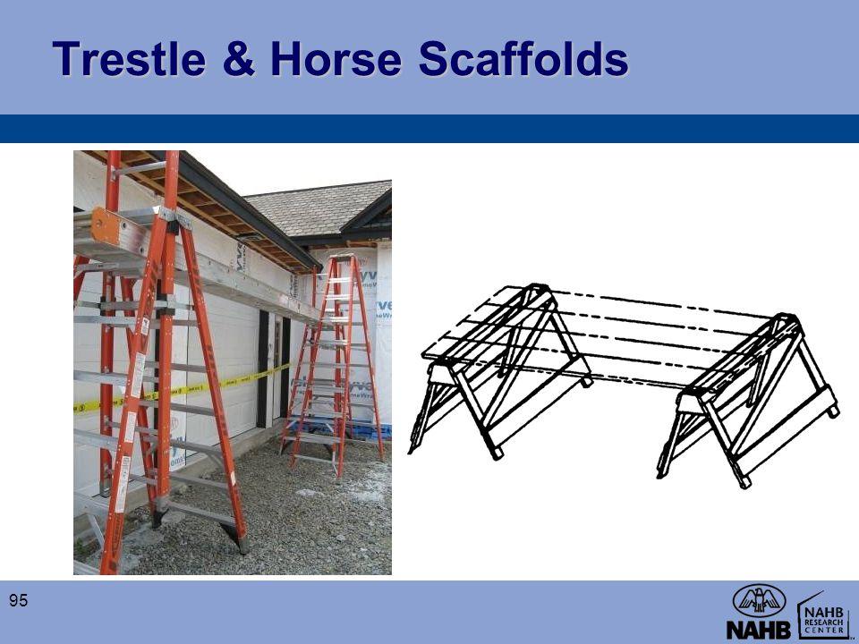 Trestle & Horse Scaffolds