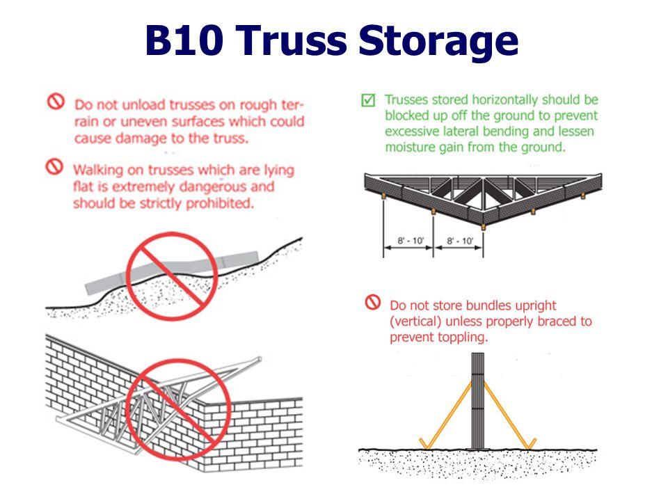 B10 Truss Storage