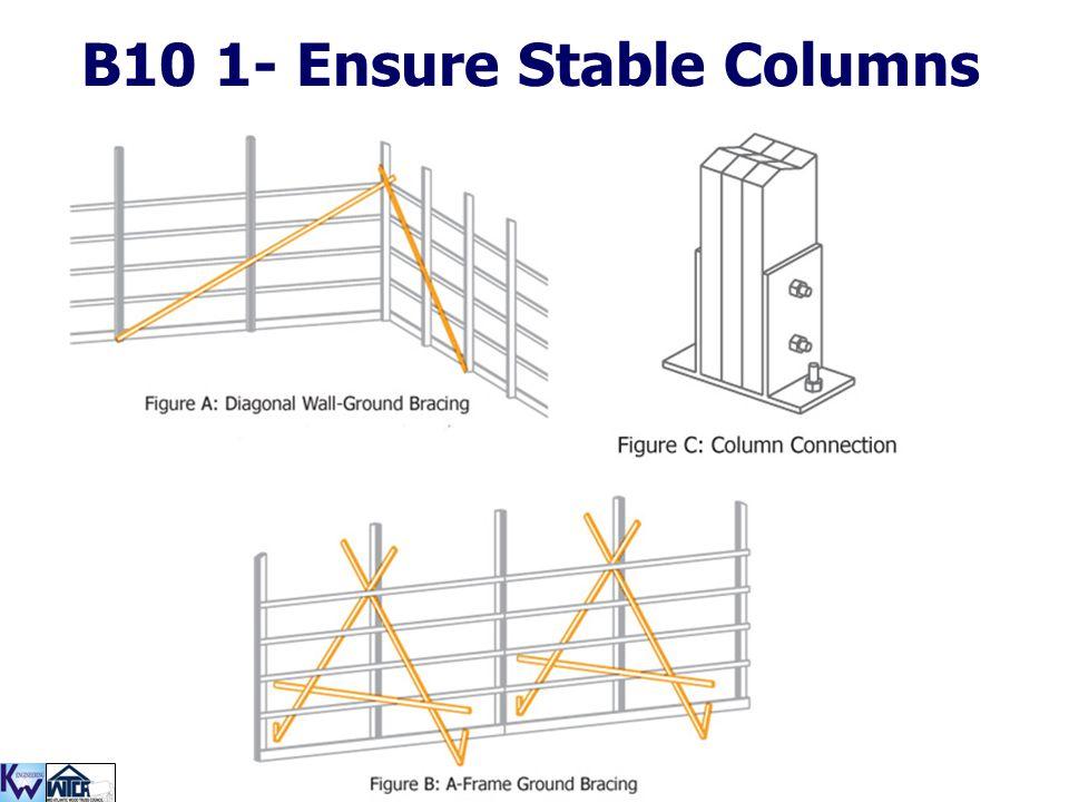 B10 1- Ensure Stable Columns