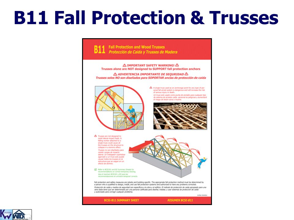 B11 Fall Protection & Trusses
