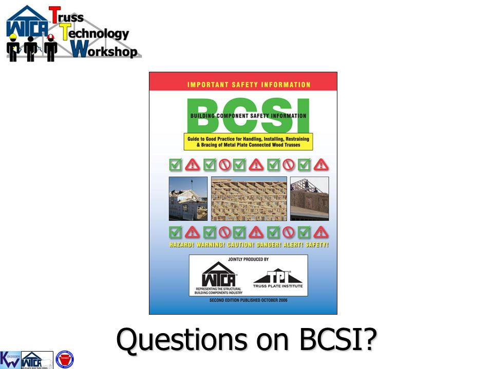 Questions on BCSI