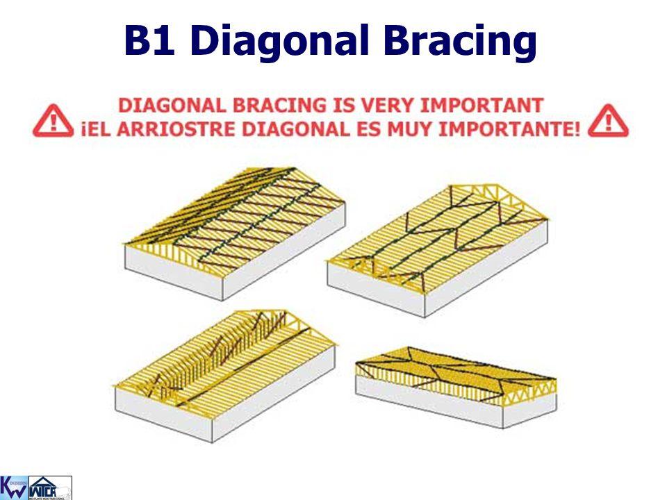 B1 Diagonal Bracing