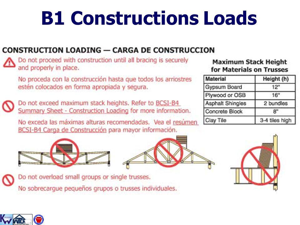 B1 Constructions Loads