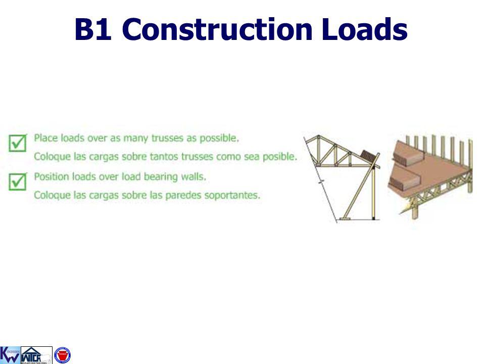 B1 Construction Loads