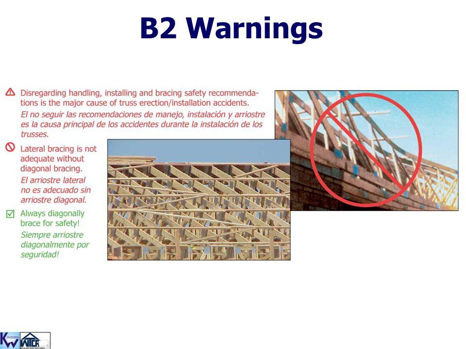 B2 Warnings
