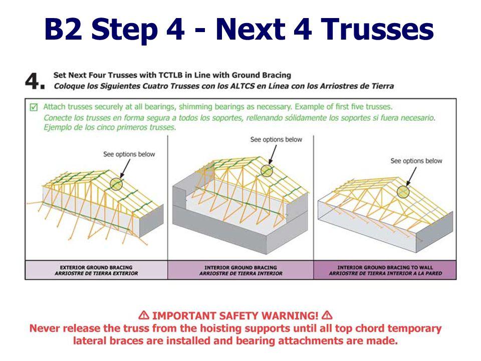 B2 Step 4 - Next 4 Trusses