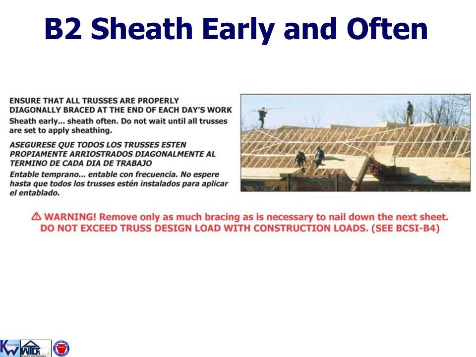 B2 Sheath Early and Often