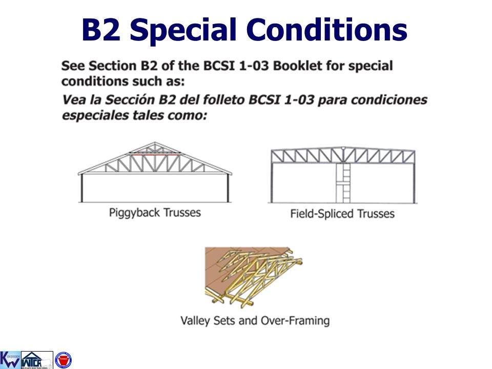B2 Special Conditions