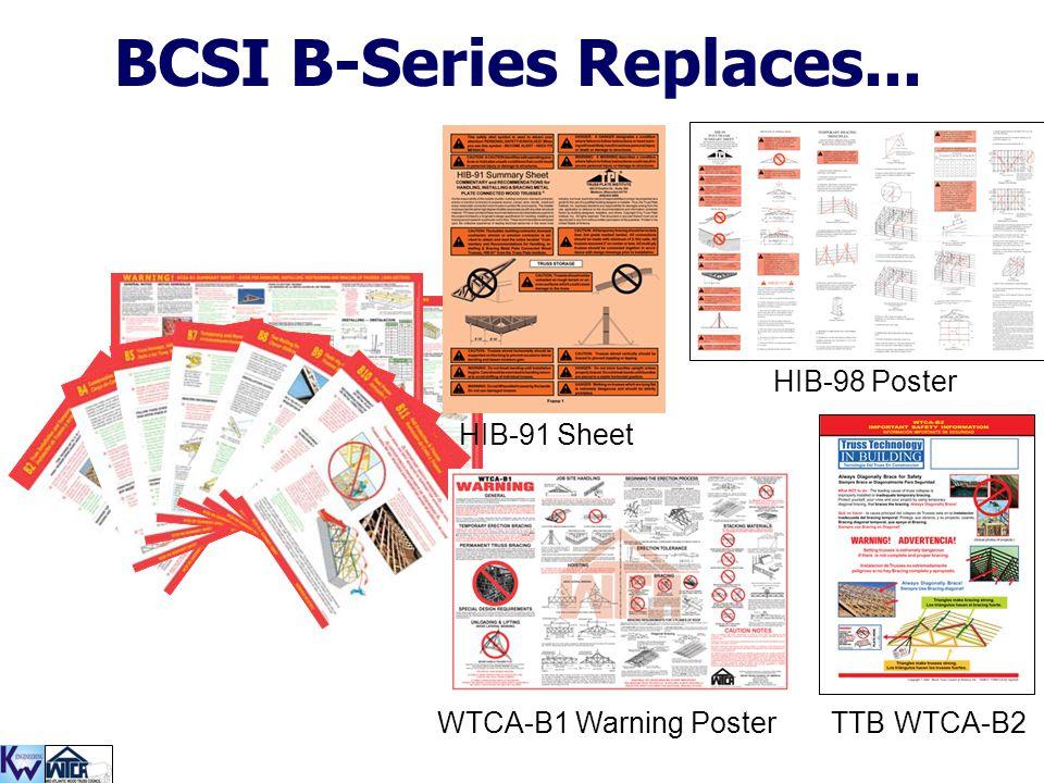 BCSI B-Series Replaces...