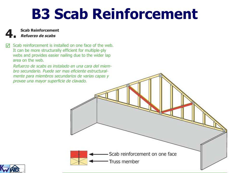 B3 Scab Reinforcement