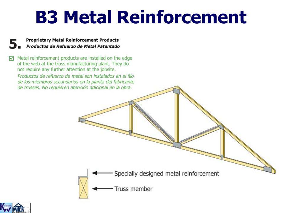B3 Metal Reinforcement