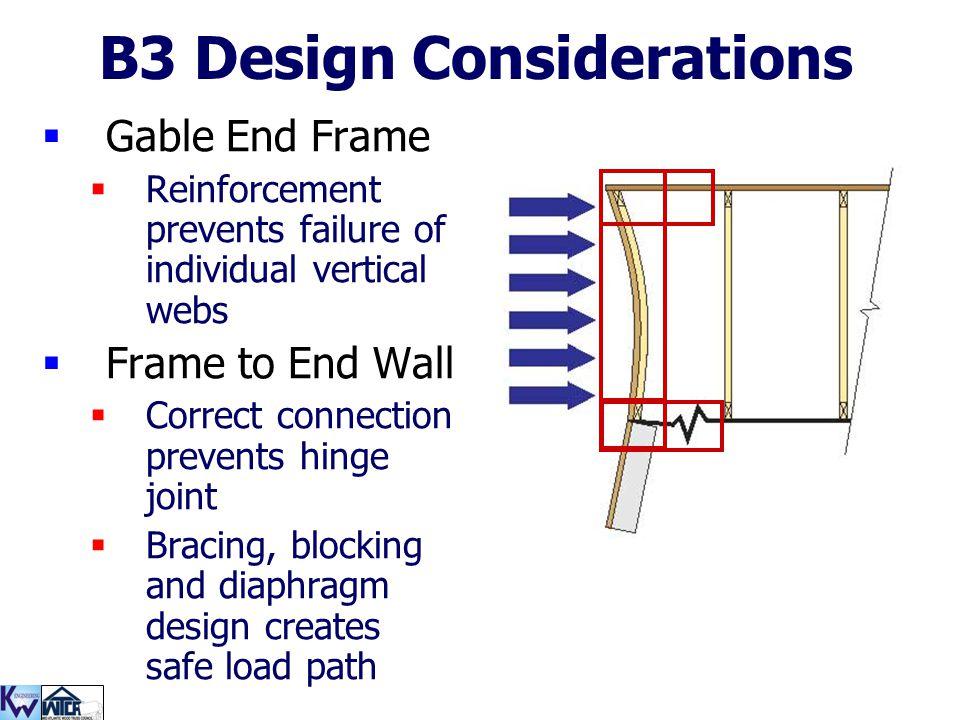 B3 Design Considerations