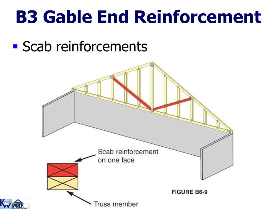 B3 Gable End Reinforcement