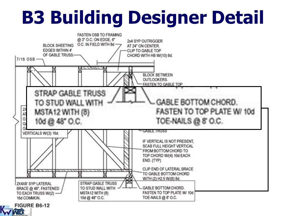 B3 Building Designer Detail