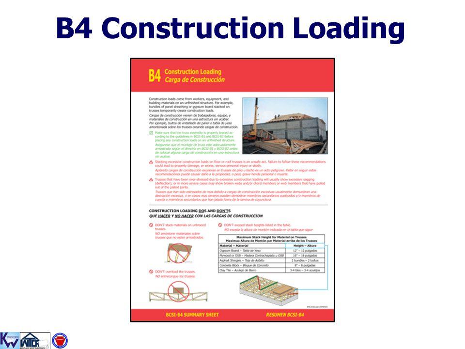B4 Construction Loading