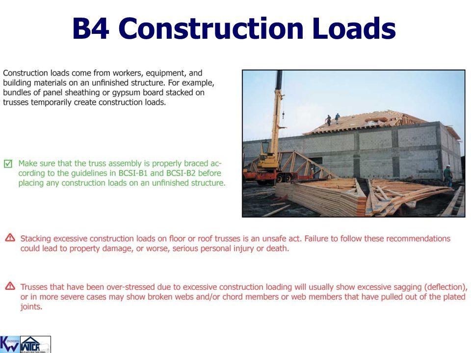 B4 Construction Loads