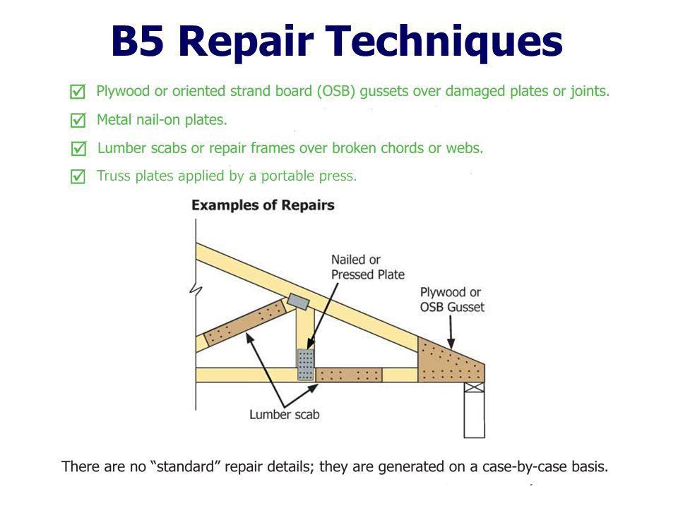 B5 Repair Techniques