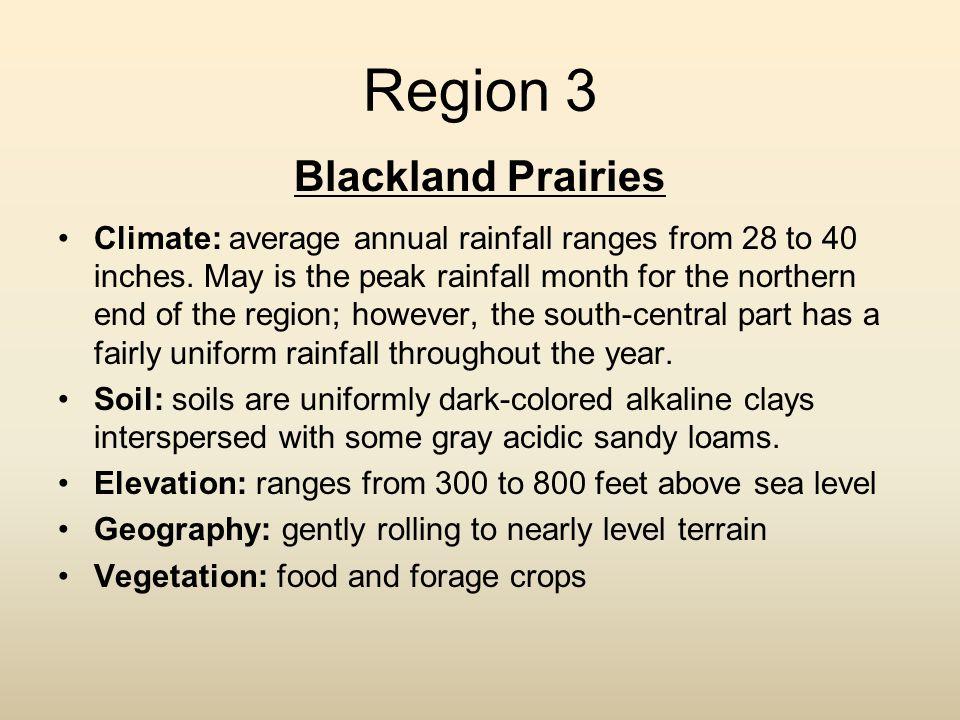 Region 3 Blackland Prairies