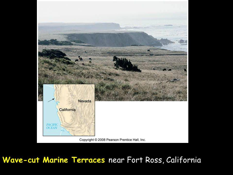 Wave-cut Marine Terraces near Fort Ross, California
