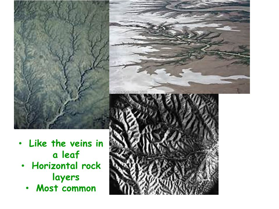 Horizontal rock layers