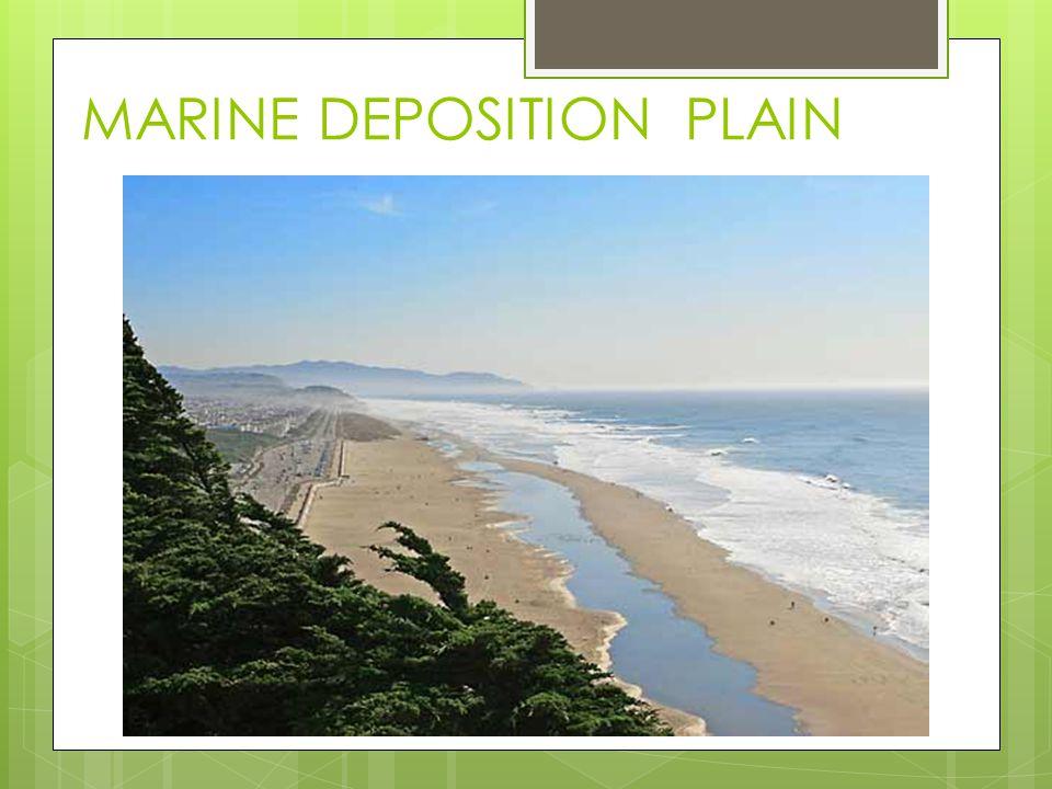 MARINE DEPOSITION PLAIN