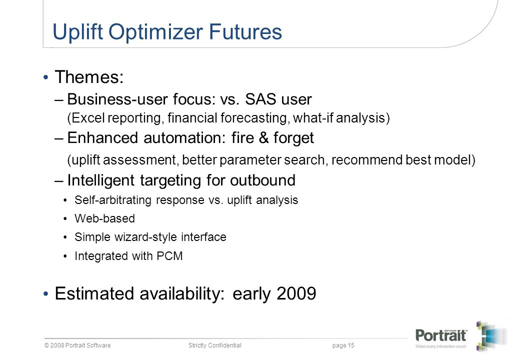 Uplift Optimizer Futures