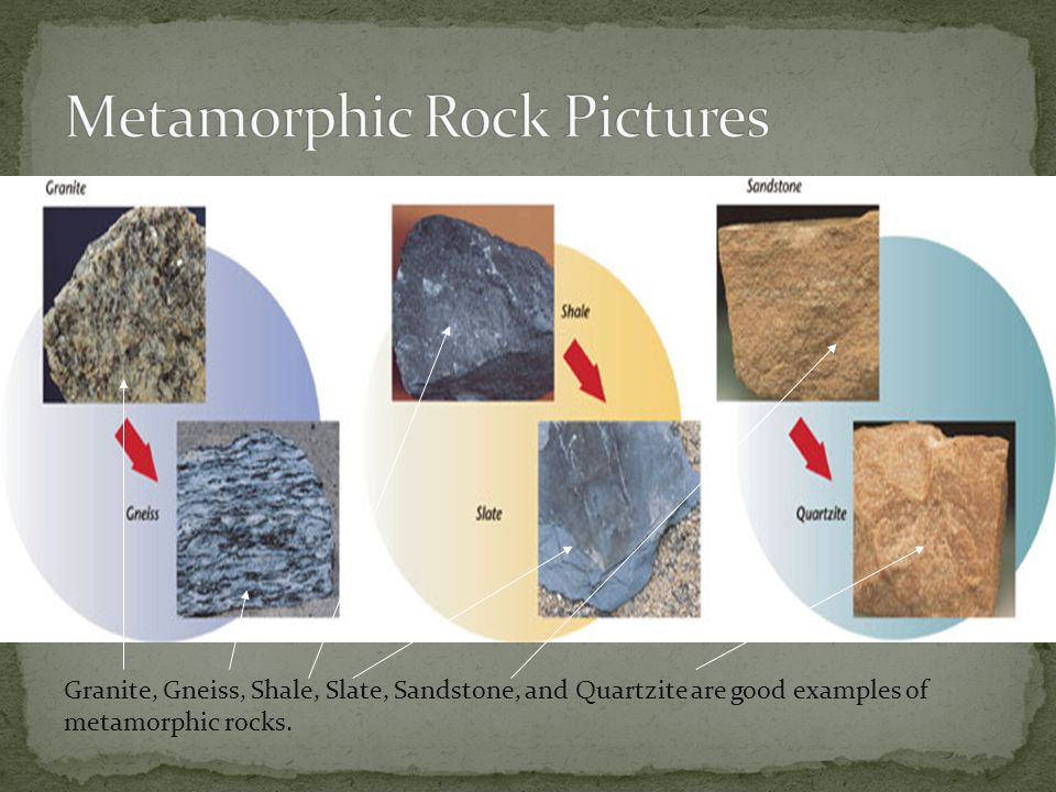Metamorphic Rock Pictures