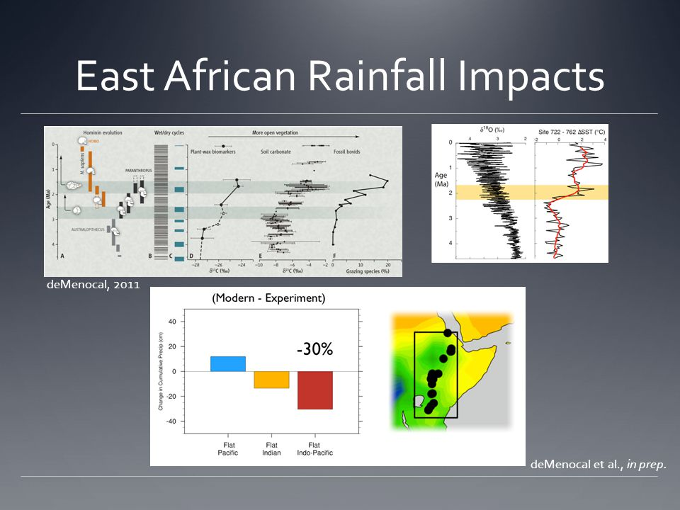 East African Rainfall Impacts