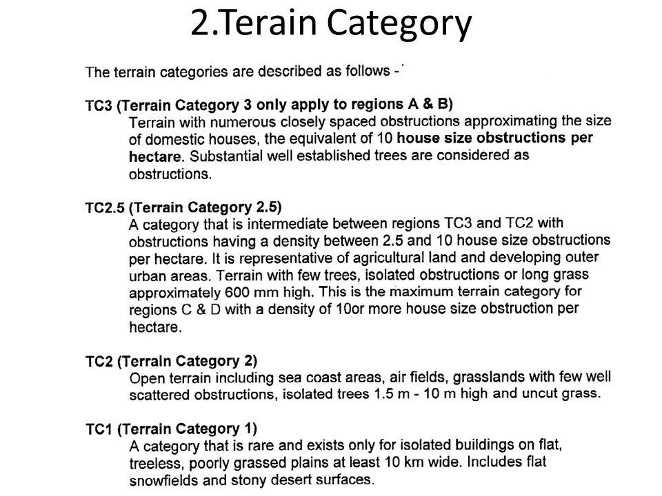 2.Terain Category